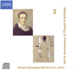 Copertina CD Chopin Vol.2